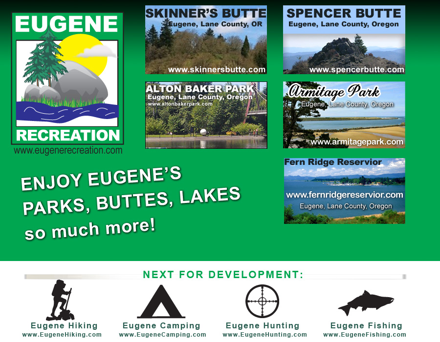 Eugene Recreation : Parks and Water